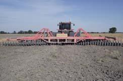"Ennor Engineering produces the world's largest disc harrow, equipped with 32"" harrow discs"