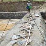 var Vicente Ferrer fonden i stand til at bygge en dam til opsamling